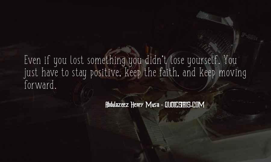 Quotes About Lost Yourself #372442