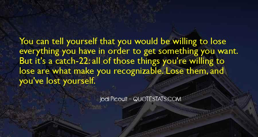 Quotes About Lost Yourself #385939