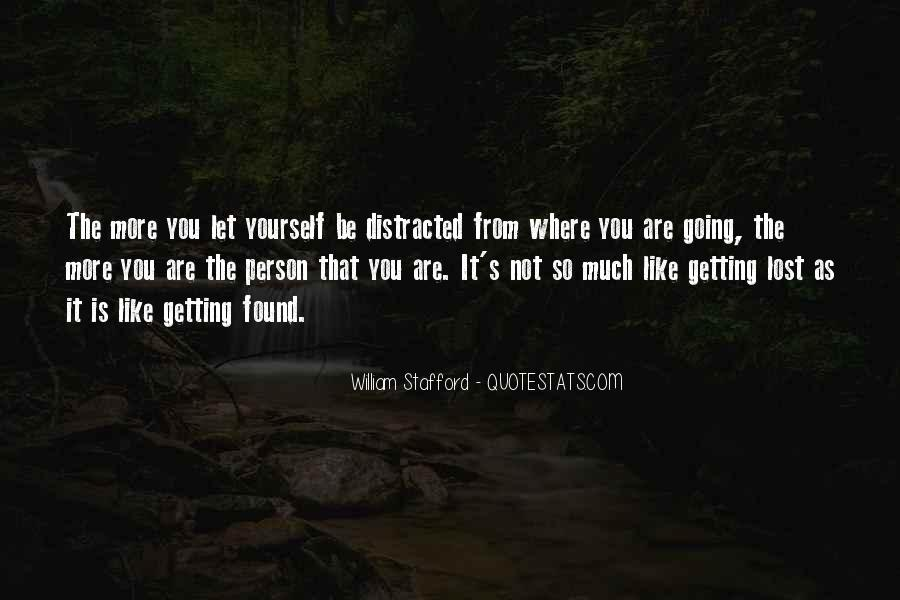 Quotes About Lost Yourself #439974