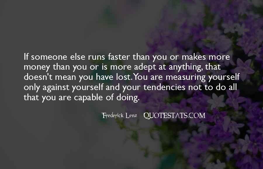 Quotes About Lost Yourself #461278