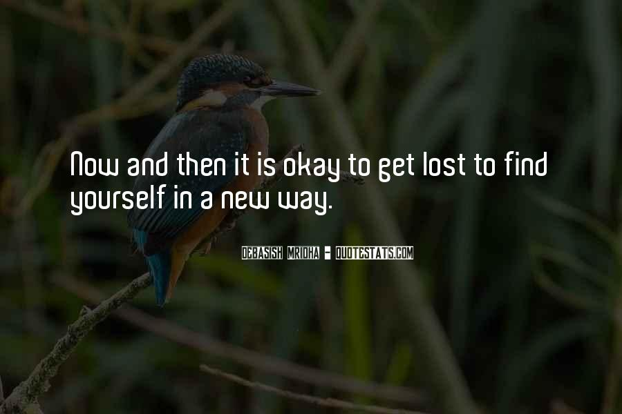 Quotes About Lost Yourself #495774