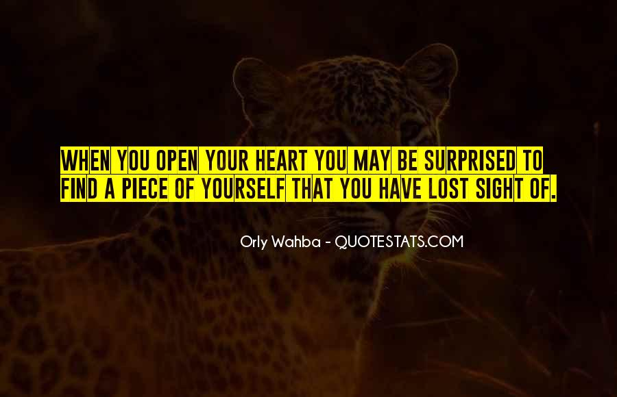 Quotes About Lost Yourself #598197