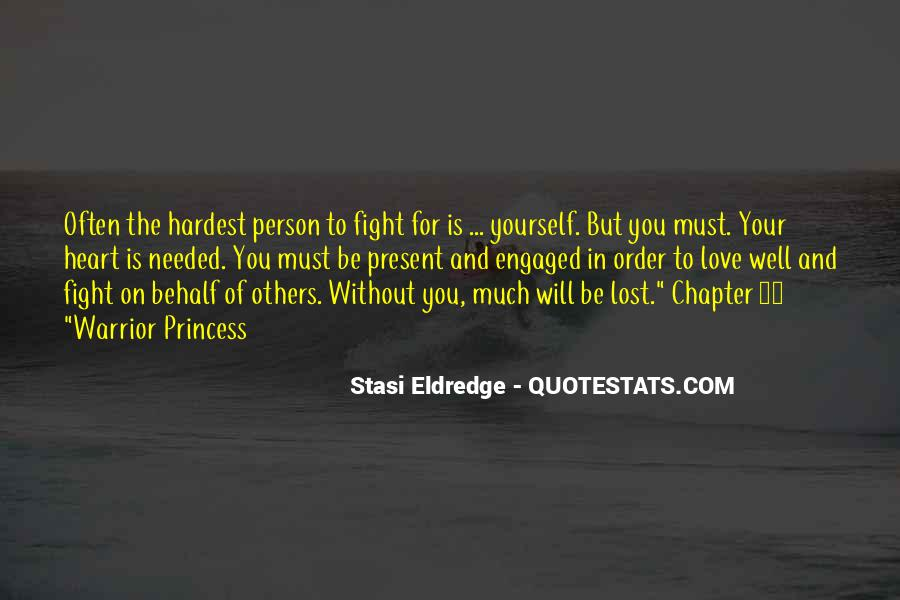 Quotes About Lost Yourself #654929