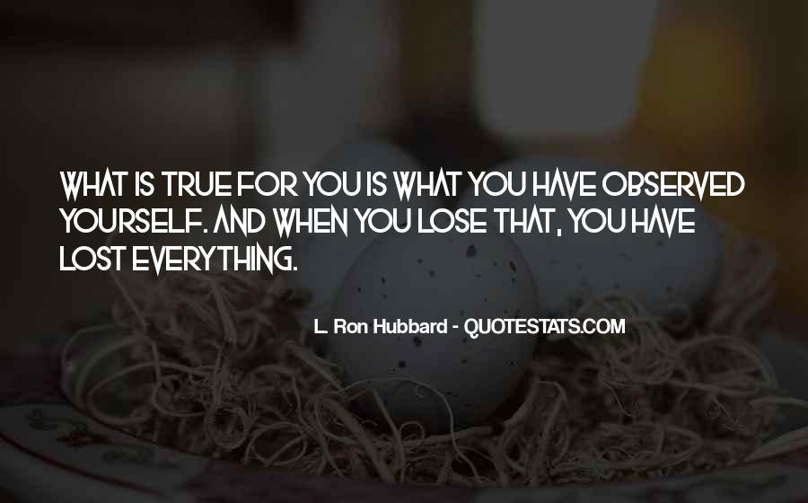 Quotes About Lost Yourself #724668