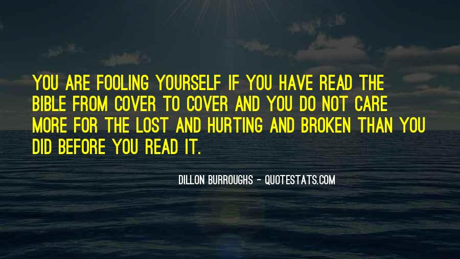 Quotes About Lost Yourself #801653