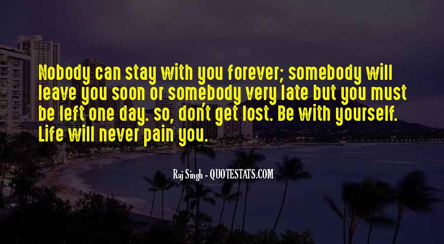 Quotes About Lost Yourself #82045
