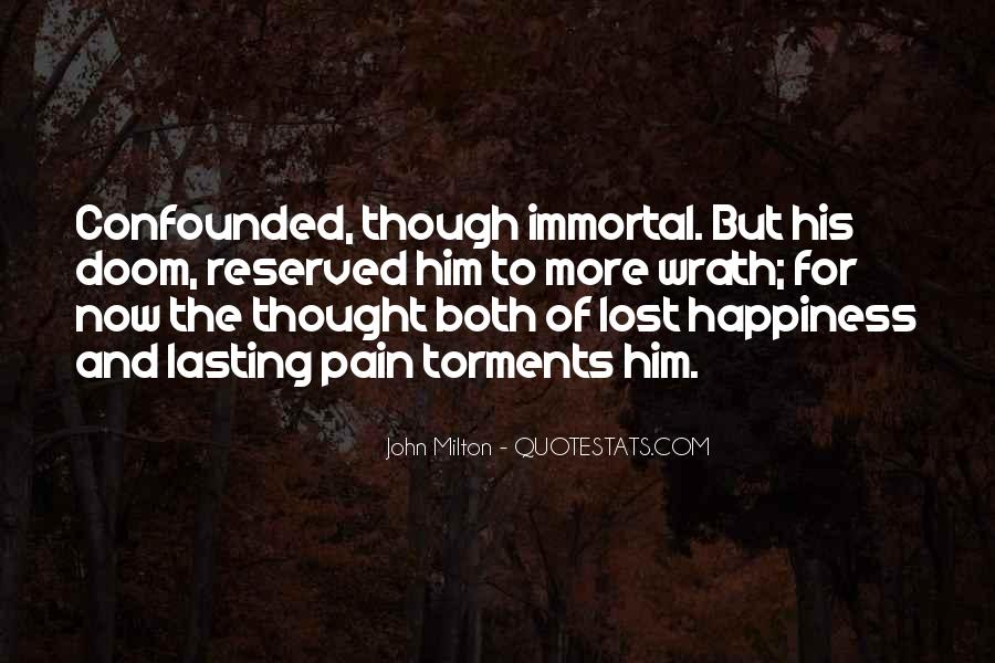 Quotes About Lost Happiness #1070823