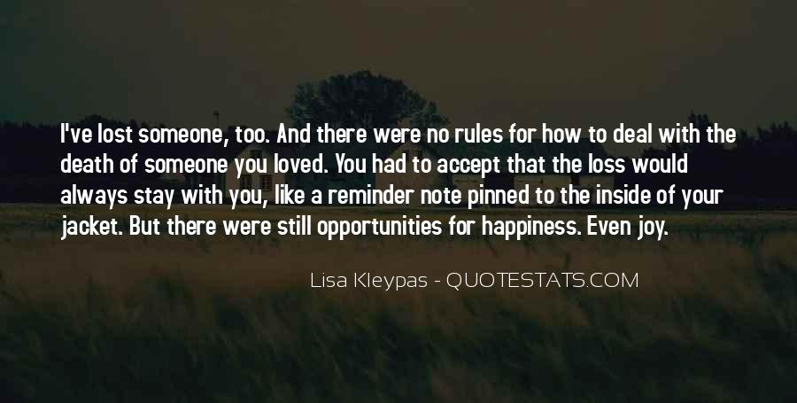 Quotes About Lost Happiness #1215419
