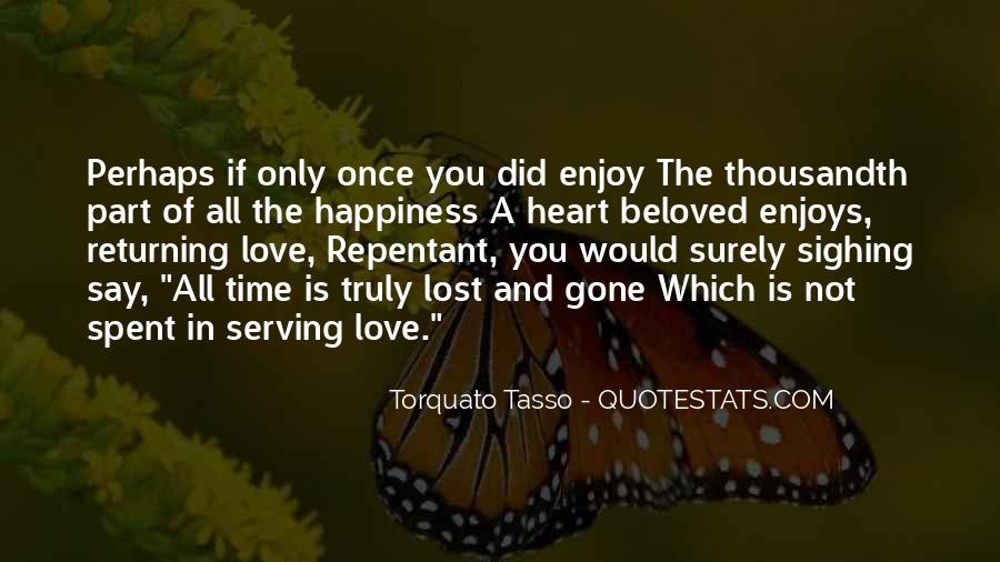 Quotes About Lost Happiness #1234775