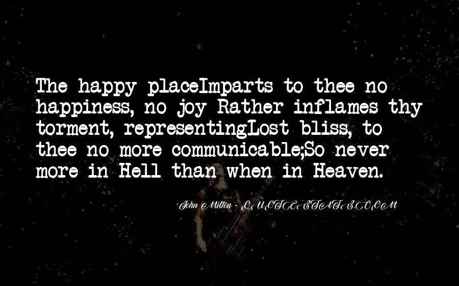 Quotes About Lost Happiness #1287699