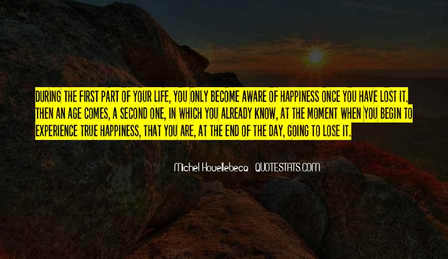 Quotes About Lost Happiness #1379900