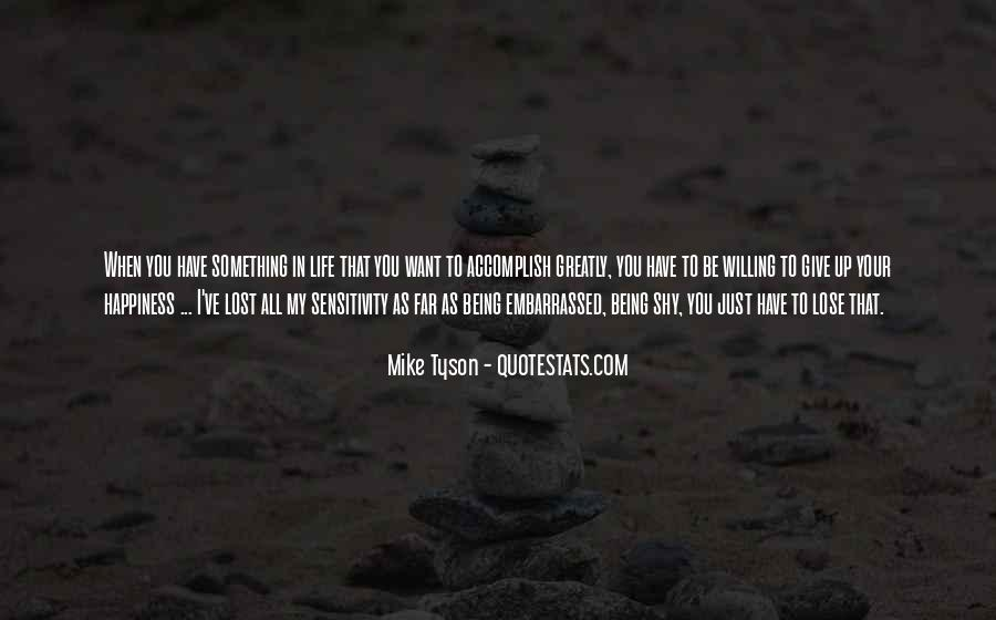 Quotes About Lost Happiness #1440003