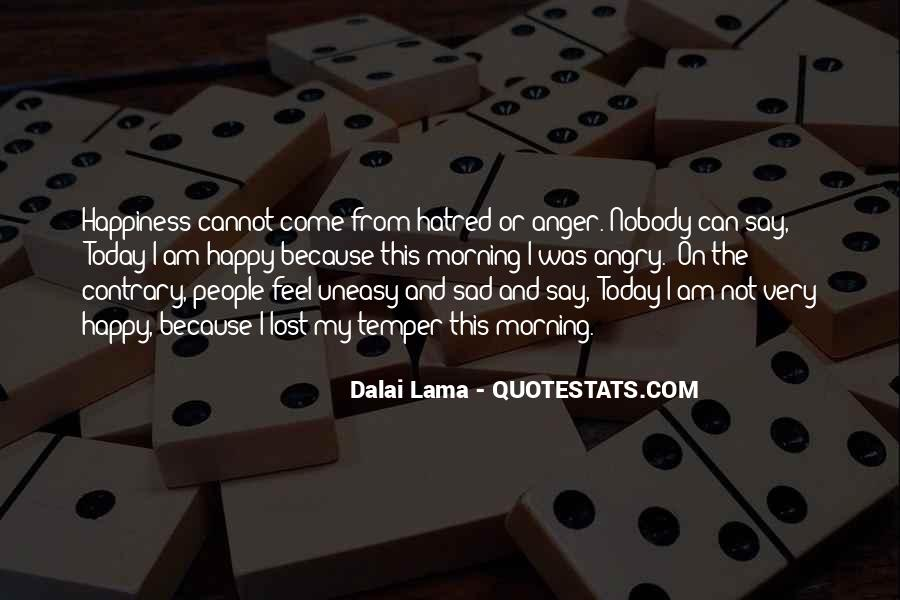 Quotes About Lost Happiness #1523037
