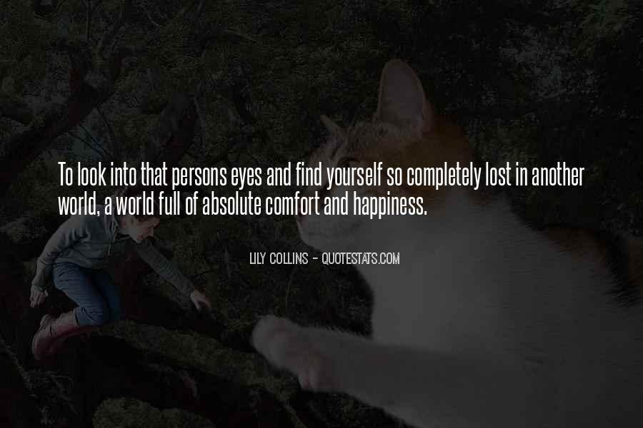 Quotes About Lost Happiness #18735
