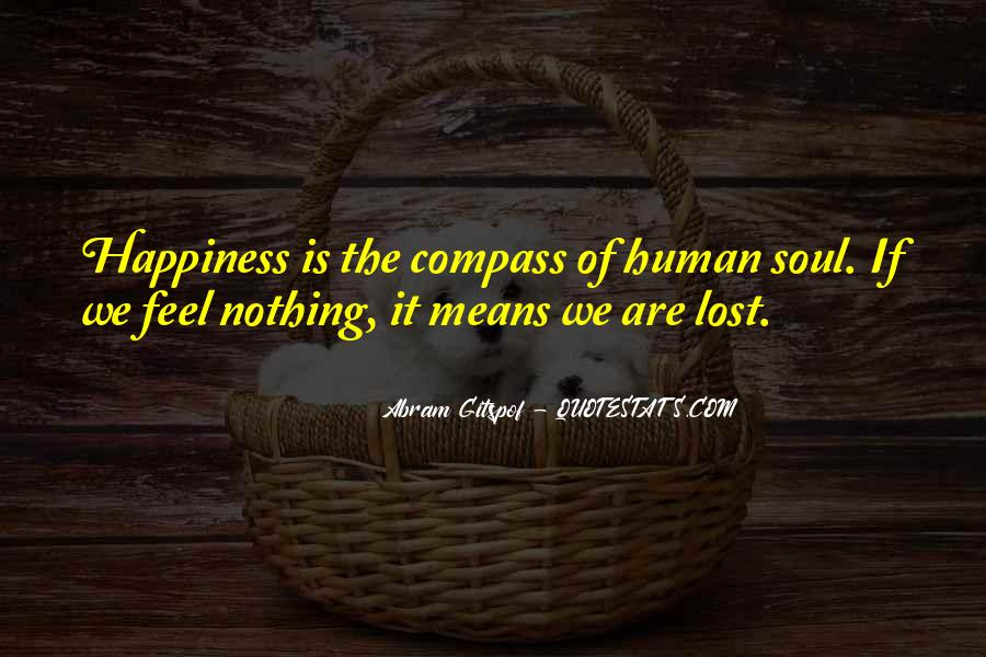 Quotes About Lost Happiness #247842