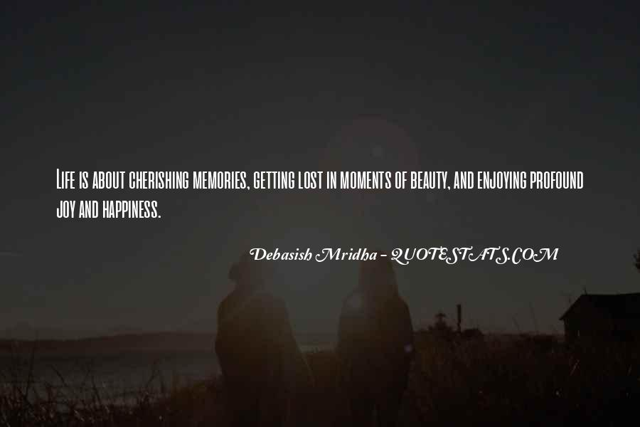 Quotes About Lost Happiness #356901