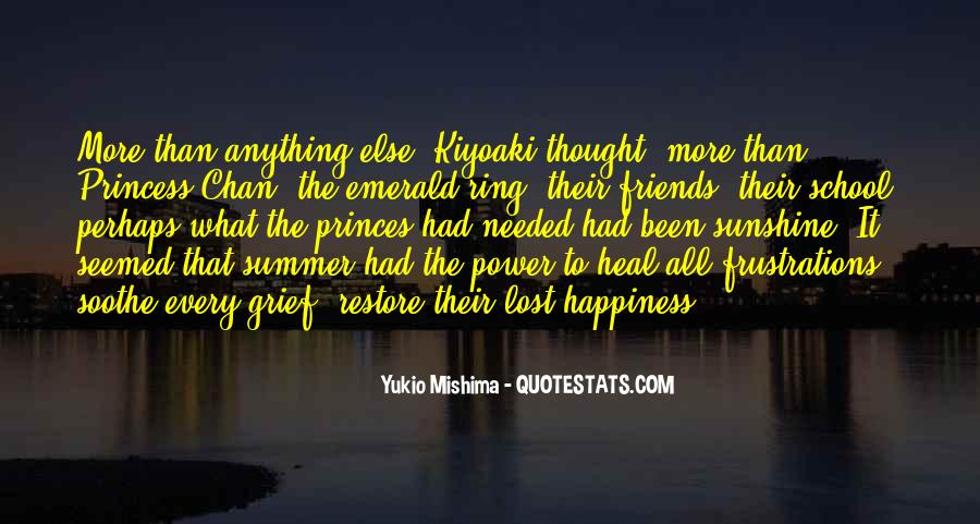 Quotes About Lost Happiness #446562