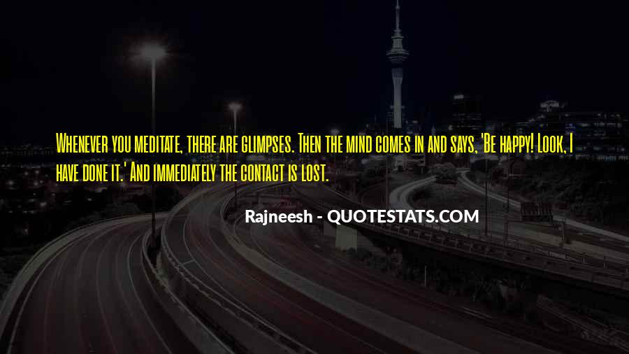 Quotes About Lost Happiness #507816