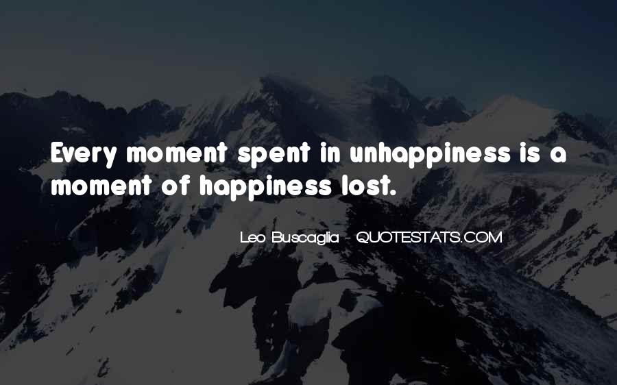Quotes About Lost Happiness #69151