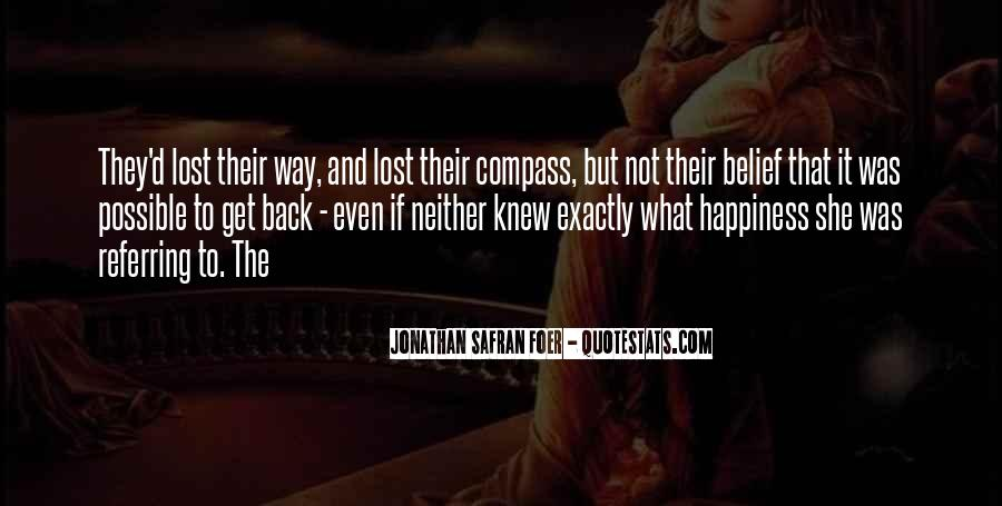 Quotes About Lost Happiness #712211