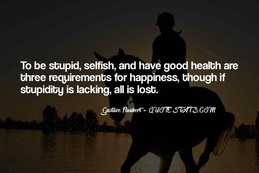 Quotes About Lost Happiness #740667