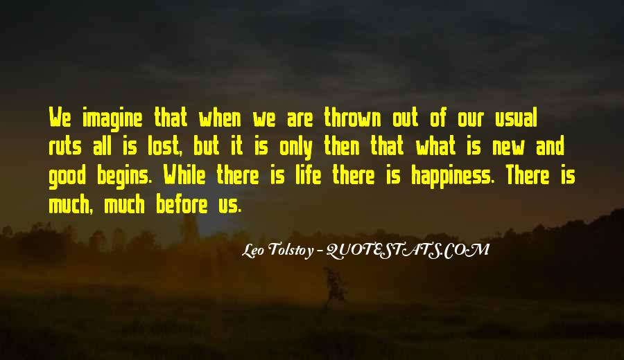 Quotes About Lost Happiness #793244