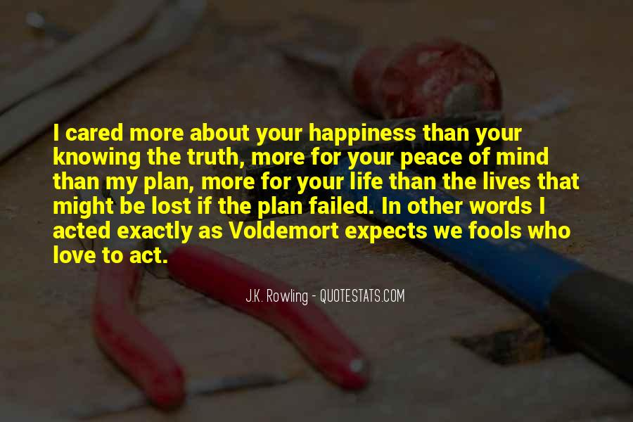 Quotes About Lost Happiness #794452