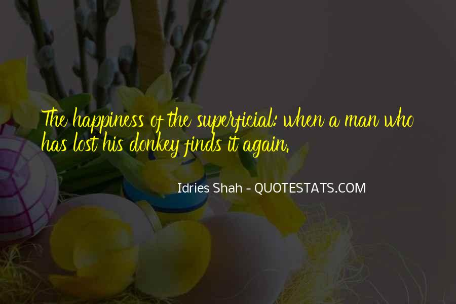 Quotes About Lost Happiness #914326