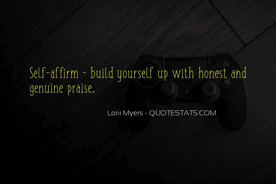 Build Yourself Quotes #337864