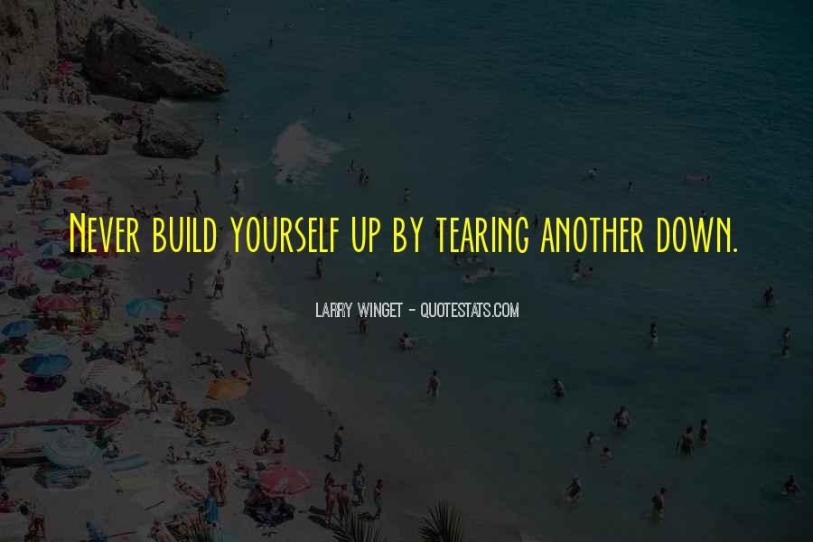 Build Yourself Quotes #407948