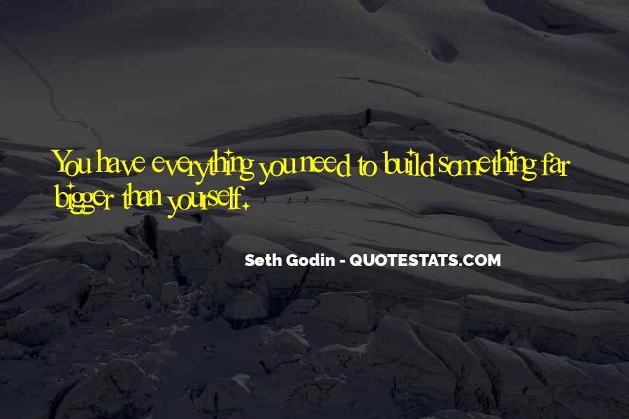 Build Yourself Quotes #51296