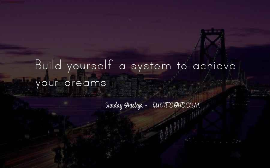 Build Yourself Quotes #661091