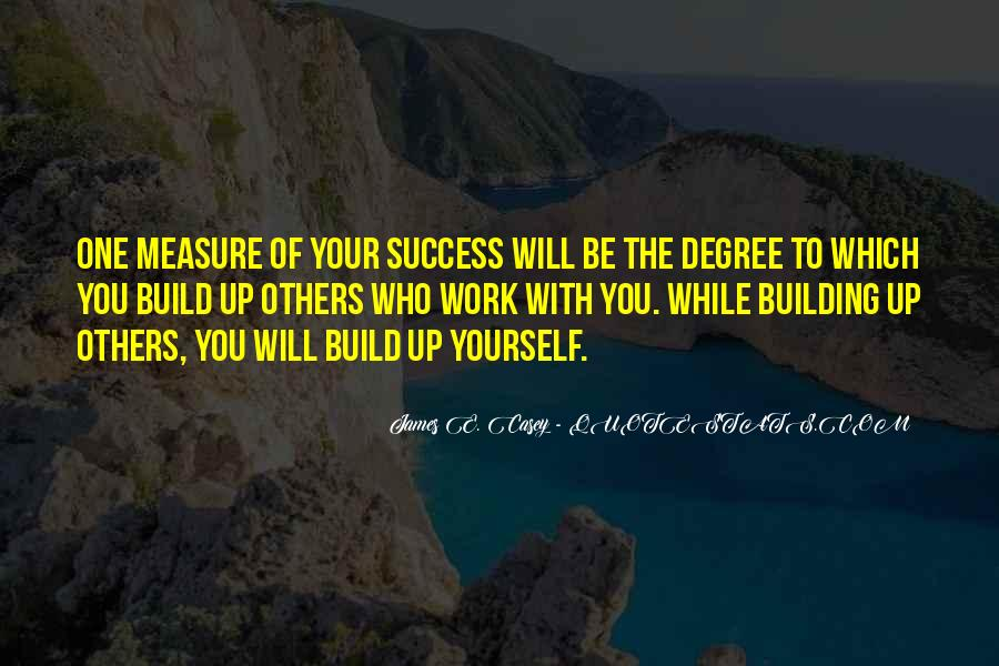 Build Yourself Quotes #783732