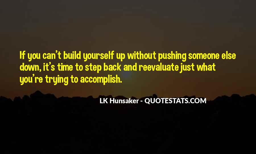 Build Yourself Quotes #796276