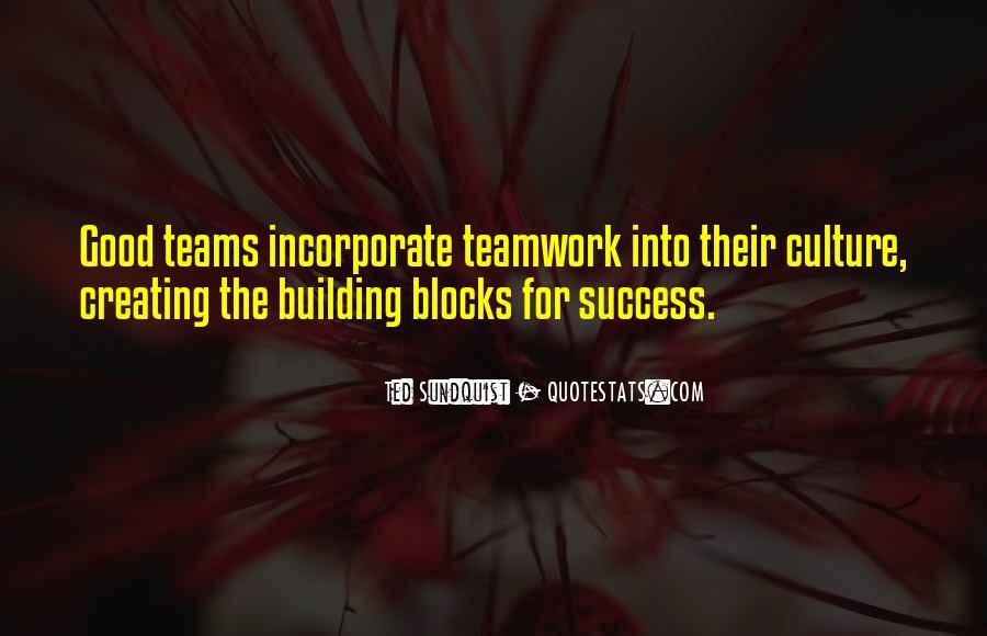 Building Blocks Success Quotes #3497