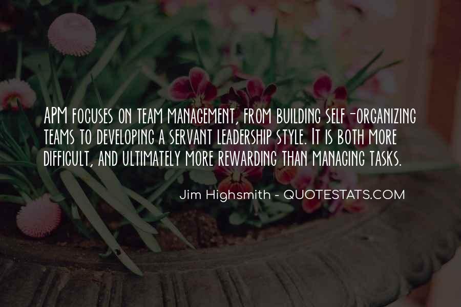Building Teams Quotes #1535140