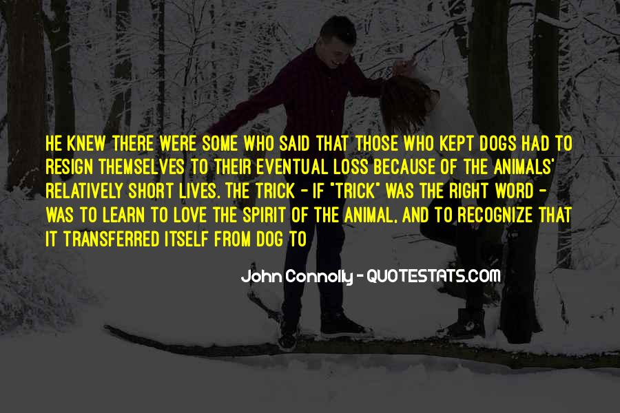 Quotes About Loss Of Dog #793762