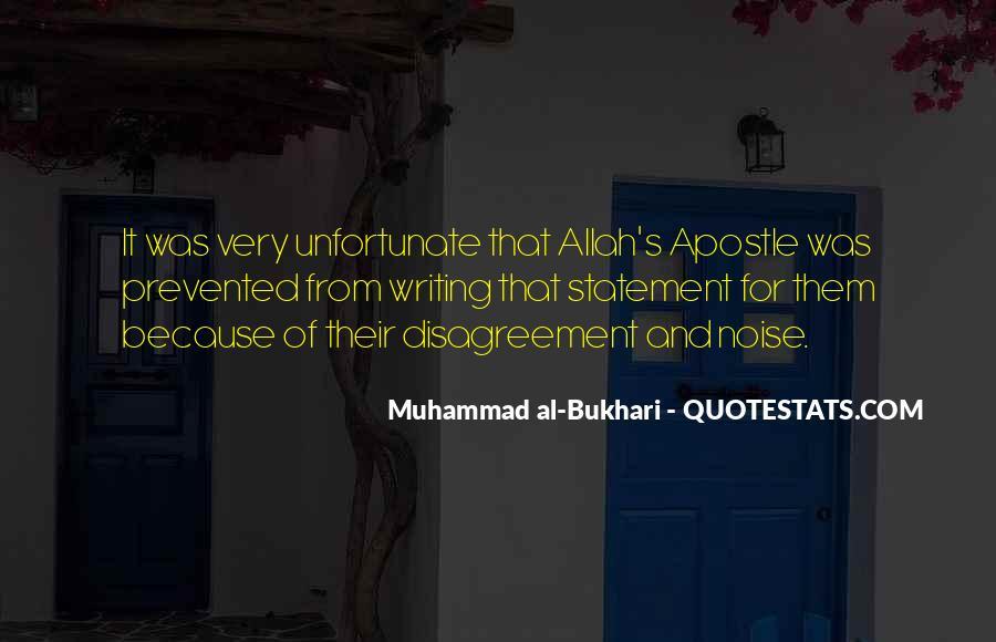 Bukhari Quotes #244875