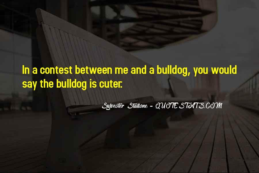 Bulldog Quotes #1543520