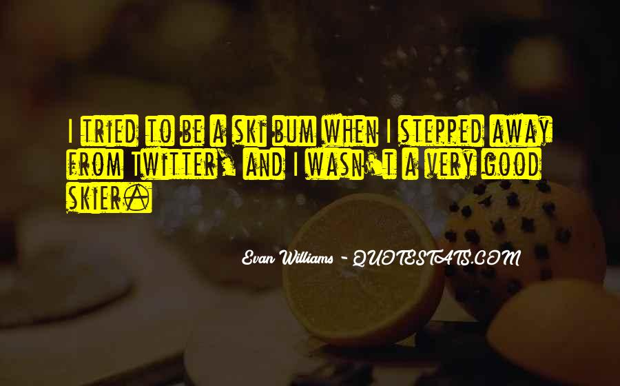 Bum Quotes #255218