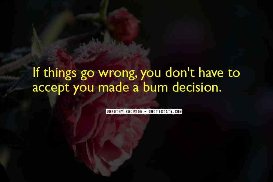 Bum Quotes #255396