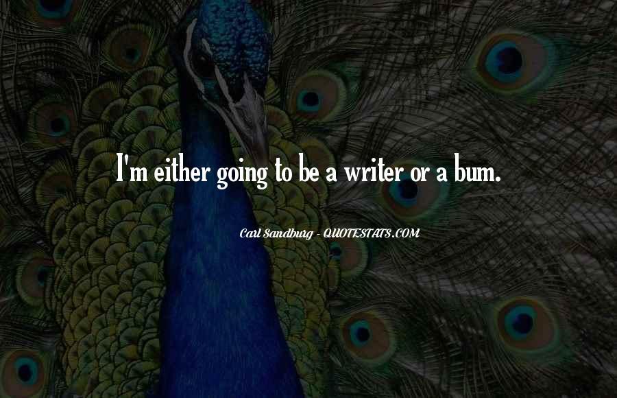 Bum Quotes #392831