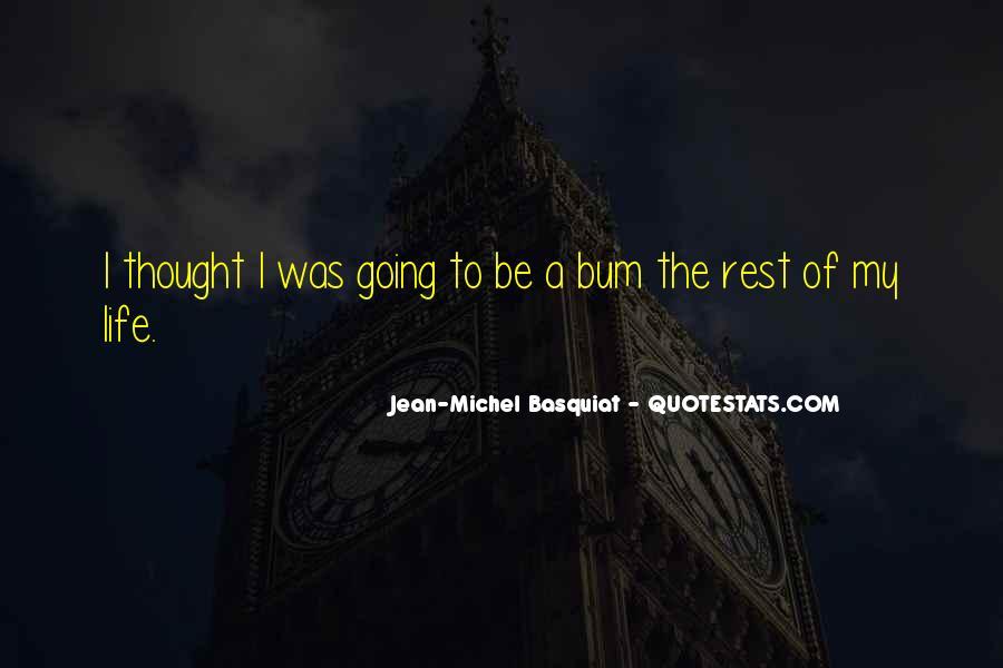 Bum Quotes #474294