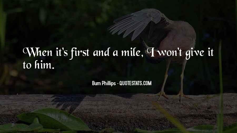 Bum Quotes #522857