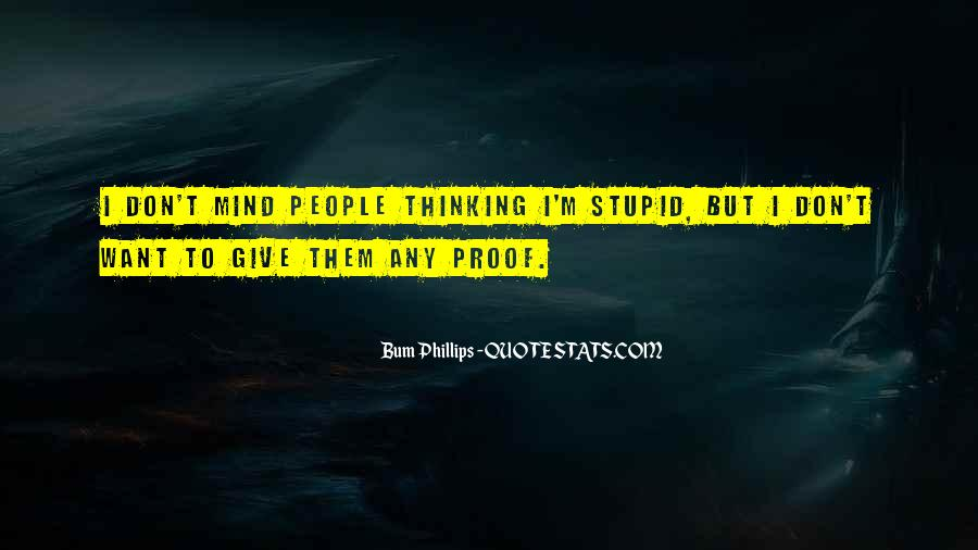 Bum Quotes #618456