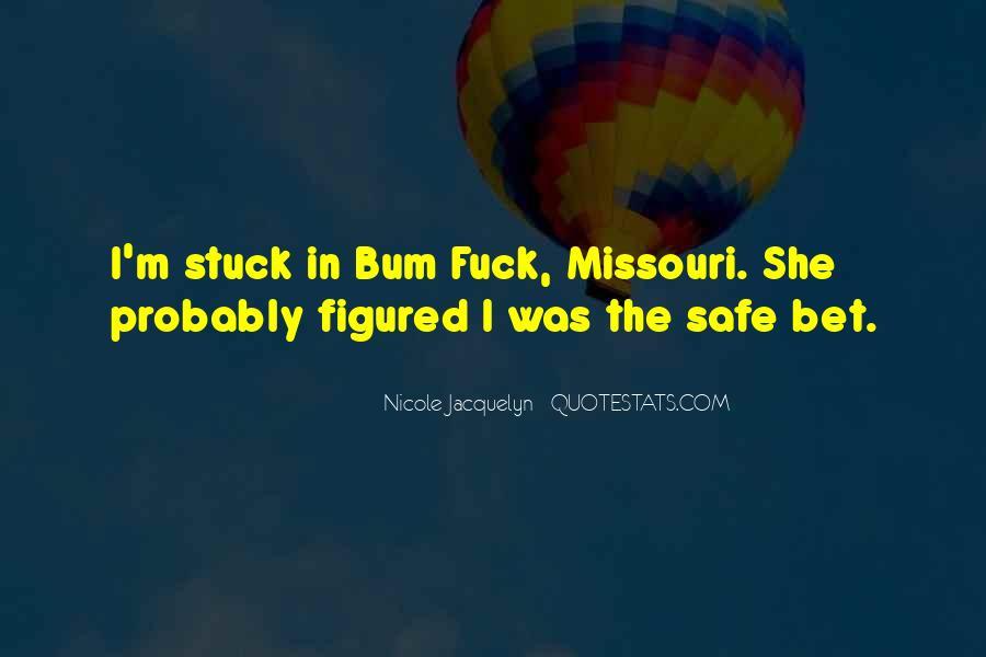 Bum Quotes #767424