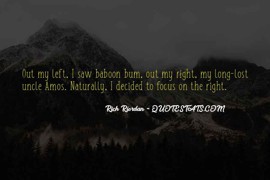 Bum Quotes #772714