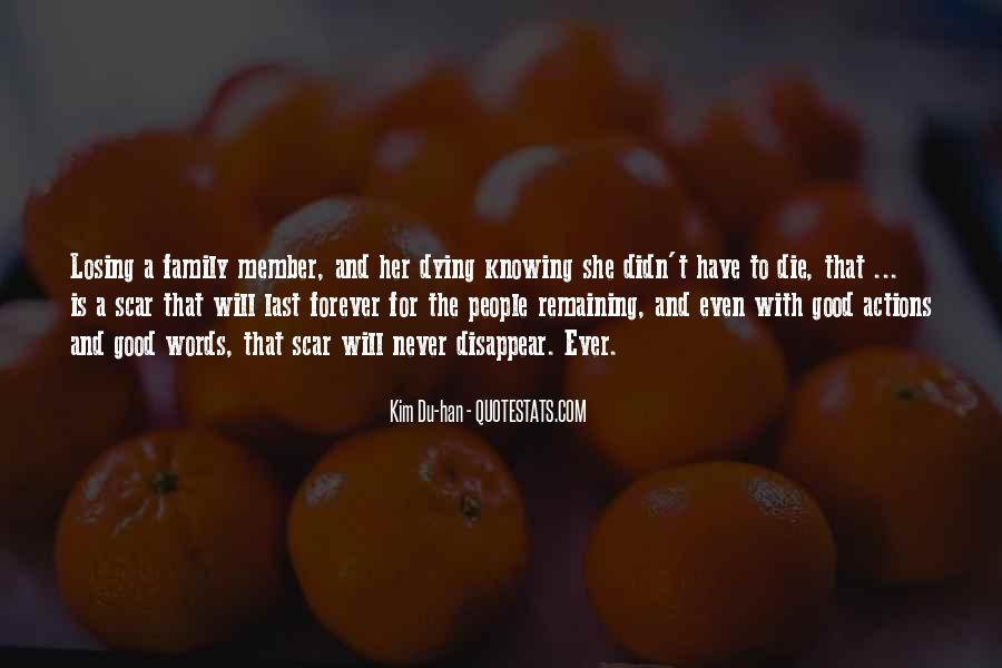 Quotes About Losing Your Family Member #257468