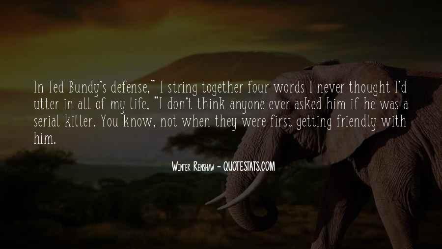 Bundy Quotes #138450
