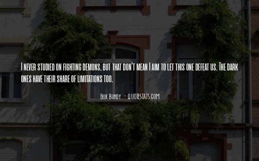 Bundy Quotes #764108
